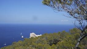 Horizont del mare Fotografie Stock Libere da Diritti