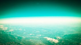 Horizont der Planetenerde lizenzfreie stockbilder