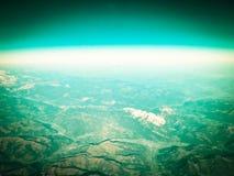 Horizont der Planetenerde stockfotos
