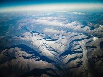 Horizont der Planetenerde stockbilder