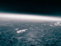 Horizont der Planetenerde stockfotografie