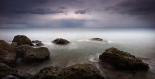 Horizont des Schwarzen Meers stockfotos