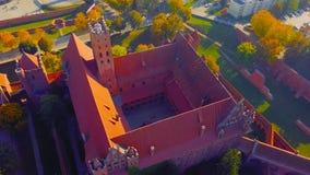 Horizont-Schloss in Polen stockbilder