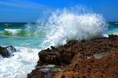 Horizont und die Wellen Stockfoto