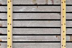 Horizontaal bleek hout Stock Foto's