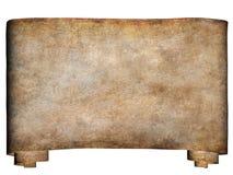 Horizontaal manuscript 2 Stock Foto's