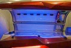 Horizontaal solarium Stock Fotografie