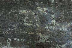Horizontaal van de Donkere Concrete Achtergrond van de Vloertextuur Stock Fotografie