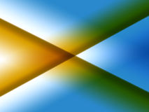 Horizontaal X royalty-vrije illustratie