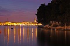 Horizontal à Porech (Croatie) Images stock