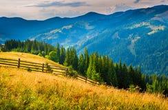 Horizontal étonnant de montagne Images stock