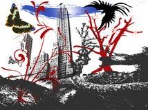 Horizontal étrange Image libre de droits