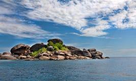 Horizontal, îles de Similan Images stock