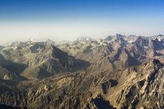 Horizontal 03 de montagne Photo libre de droits
