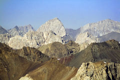 Horizontal 05 de montagne Photos libres de droits