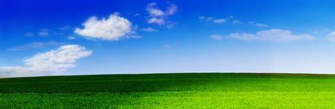Horizontal 3 panoramiques Images stock
