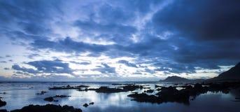 Horizontal #4 de mer Photographie stock