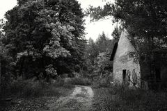 Horizontal abandonné Photographie stock
