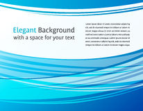 Horizontal abstract blue background Royalty Free Stock Image