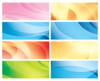 Horizontal abstract colorful backgrounds - vector Royalty Free Stock Image