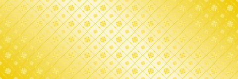 horizontal abstract elegant gold design for pattern and backgrou Stock Photo