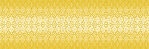 horizontal abstract elegant gold design for pattern and backgrou Stock Image