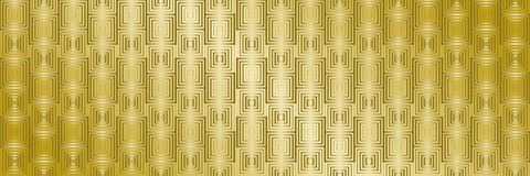 horizontal abstract elegant gold design for pattern and backgrou Royalty Free Stock Photos