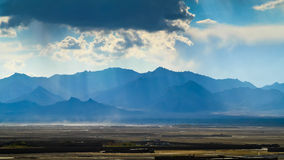 Horizontal afghan Image libre de droits
