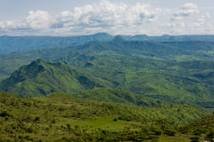 Horizontal africain. l'Ethiopie Images stock