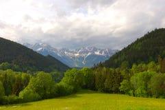 Horizontal alpestre photos stock