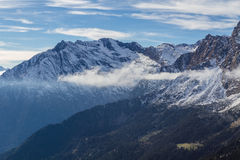 Horizontal alpin Photo stock