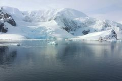 Horizontal antarctique Image stock