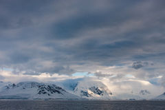 Horizontal antarctique photos stock