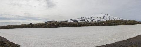Horizontal approximatif de montagne Image libre de droits