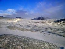 Horizontal arctique Images stock