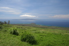 Horizontal arrière-pays de Maui image libre de droits