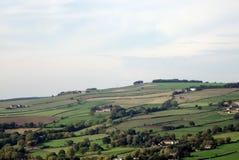 Horizontal au-dessus de Bradfield, Sheffield. Images stock