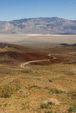 Horizontal au-dessus de Death Valley Images stock