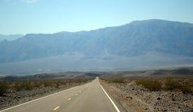 Horizontal au stationnement national de Death Valley Photos stock