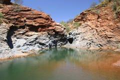 Horizontal australien Photo libre de droits