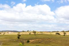 Horizontal australien Photos libres de droits