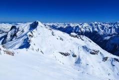 Horizontal autrichien d'Alpes Photos libres de droits