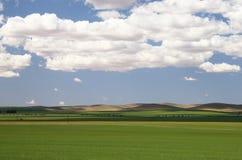 Horizontal avec des nuages Photographie stock
