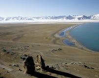 Horizontal avec un lac Image libre de droits