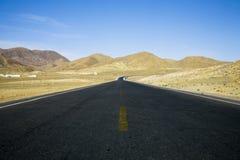 Horizontal avec une route Photographie stock libre de droits