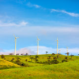 Horizontal Axis Wind Turbines Royalty Free Stock Photos