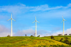 Horizontal Axis Wind Turbines Royalty Free Stock Image