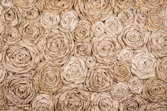 Horizontal background paper flowers Royalty Free Stock Image