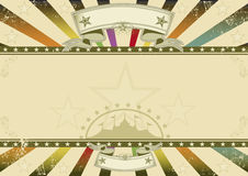 Horizontal background retro party Stock Photo