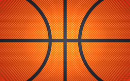 Horizontal ball texture for basketball, sport background, vector illustration. For design vector illustration